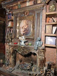 Post with 37 votes and 3601 views. Tagged with halloween, miniatures, dollhouse; Shared by thoughtcrimeo. Various spooky dollhouses & miniatures for Halloween - /r/dollhouses Spooky Halloween, Halloween Village, Halloween Displays, Halloween Doll, Halloween Diorama, Haunted Dollhouse, Haunted Dolls, Dollhouse Miniatures, Dollhouse Ideas
