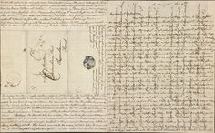 Jane Austen (1775-1817), Autograph letter signed, cross written to save paper and postage: Southampton, to Cassandra Austen, 8-9 February 1807, Purchased by J. P. Morgan, Jr., 1920