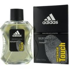 Men's Cologne-ADIDAS INTENSE TOUCH by Adidas EDT SPRAY 3.4 OZ (DEVELOPED WITH ATHLETES)