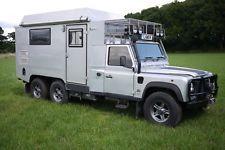 Land Rover Defender 170 Genuine 6x6 Camper Expedition Overland