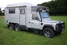 Land Rover Defender 170 Genuine 6x6 Camper Expedition Overland