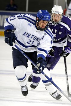 Air Force forward Jacques Lamoureux was named to the AHA Anniversary First  Team. Atlantic Hockey Association 416fafa5134
