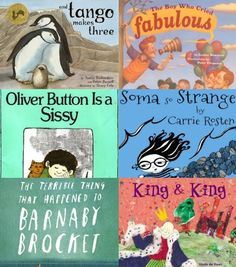 Favorite LGBT-Positive Children's Books