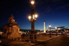 Place de la #Concorde la nuit, vu par #ZoomOn Paris