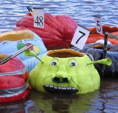 Pumpkin Boats Windsor Regatta Nova Scotia