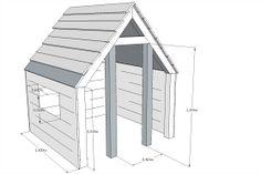 Maak een speelhuisje van Douglas hout! | Eigen Huis & Tuin