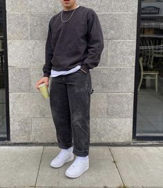 Street Style Outfits Men, Stylish Mens Outfits, Retro Outfits, Cool Outfits, Casual Outfits, Tomboy Fashion, Streetwear Fashion, Vetement Fashion, Mens Clothing Styles