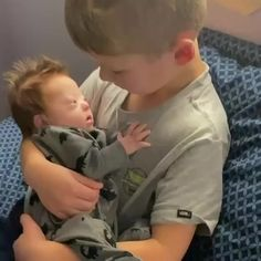 Now this is guaranteed to be the sweetest thing you see today. Since Rayce's baby brother Tripp (who has Down syndrome) was born, the…