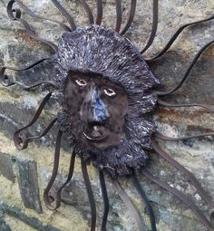 Photo - GooglePhotos Lion Sculpture, Wreaths, Statue, Halloween, Google, Photos, Decor, Art, Art Background