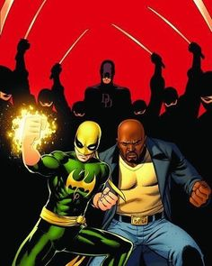 Daredevil Iron Fist and Luke Cage Getting ready for Ironfist in a few days by John Cassaday Download images at nomoremutants-com.tumblr.com Key Film Dates Logan: Mar 3 2017 Guardians of the Galaxy Vol. 2: May 5 2017 Spider-Man - Homecoming: Jul 7 2017 Thor: Ragnarok: Nov 3 2017 Black Panther: Feb 16 2018 The Avengers: Infinity War: May 4 2018 Ant-Man & The Wasp: Jul 6 2018 Captain Marvel: Mar 8 2019 The Avengers 4: May 3 2019 #marvelcomics #Comics #marvel #comicbooks #ave
