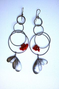 RESERVED Wind Strum Earrings by thenoisyplume on Etsy