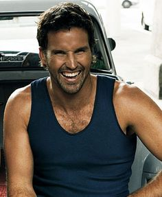 Pat Rafter.....Great player, great smile, great accent!
