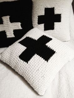 Image of CUSHION White Cross