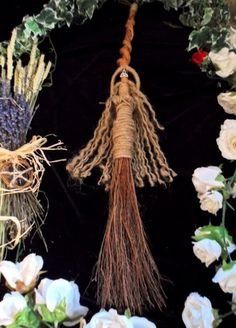 Pagan Handfasting Besom. Goddess Of All Sabbats. Jumping The Broom Or Decoration