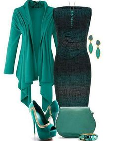 Outfits Ideas.... love the outfit, but I would have to find different shoes. These are way to high for me!