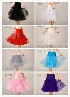 "Short Petticoat Slip Crinoline Underskirt Fancy Skirt Slop Tutu 26"" NORIVIIQ #Petticoat"