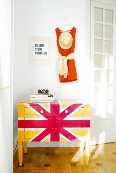 Union Jack Cupboard