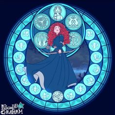 merida.-Nicole Graham Art | via Facebook