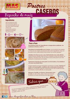 Postres Caseros | Supermercados MAS Blog