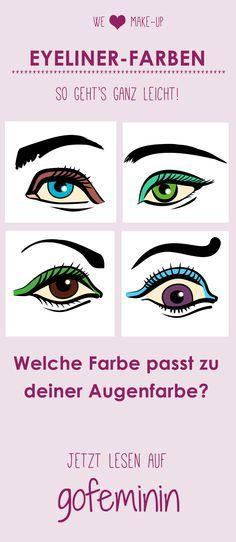 Welche Eyeliner-Farbe passt am besten zu deiner Augenfarbe? Jetzt lesen!