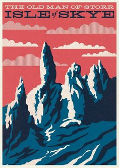 One of my own prints. The Old Man of Storr