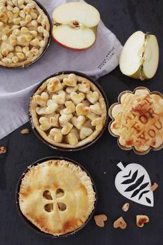 Fräulein Klein : Apfel und Kürbis - zwei verschiedene, herbstliche Pie´s