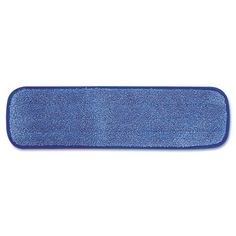 """Rubbermaid® Commercial - Microfiber Wet Room Pad, Split Nylon/Polyester Blend, 18"""", 12/Carton, Blue - Sold As 1 Carton - Proven to remove 99.9% of microorganisms. by Rubbermaid. $139.95. Rubbermaid® Commercial - Microfiber Wet Room Pad, Split Nylon/Polyester Blend, 18"""", 12/Carton, BlueProven to remove 99.9% of microorganisms. Scrubbing strips for cleaning tough stains. Reduces water and chemical consumption up to 90%. Helps reduce cross-transmissions. Ble..."""