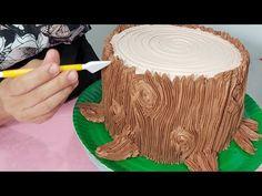 Cake Decorating Frosting, Creative Cake Decorating, Cake Decorating Techniques, Cake Decorating Tutorials, Creative Cakes, Concrete Cake, Festive Bread, Nature Cake, First Communion Cakes
