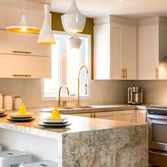 3465 Golden Mascarello 180fx® By Formica Group Is Stunning In This Modern  Kitchen. Try