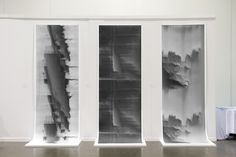 Namwoo Bae - The Curtain (installation view from the RISD Grand Thesis Show 2013)