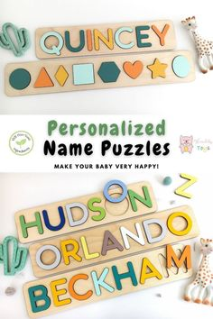 Сustom name puzzles with engraving by WoodilyToys. Will you be our Ring Bearer Proposal Ring. #toys #wooden #baby Jigsaw Puzzles For Kids, Puzzles For Toddlers, Fun Games For Kids, Indoor Activities For Kids, Diy For Kids, Wooden Toys For Toddlers, Toddler Toys, Baby Toys, Kids Toys