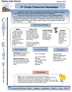 classroom newsletter template examples - http://exampleresumecv.org/classroom-newsletter-template-examples/