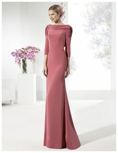 Mother Of Bride Outfits, Mothers Dresses, Simple Dresses, Elegant Dresses, Gaun Dress, Fiesta Outfit, Evening Dresses, Prom Dresses, Special Dresses