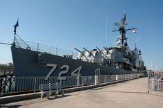 Destroyer USS Laffey #navy http://joefollansbee.com/photos/veteran-warships/