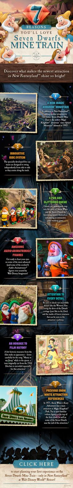 7 reasons you'll love Seven Dwarfs Mine Train! #vacation #tips #tricks #SnowWhite