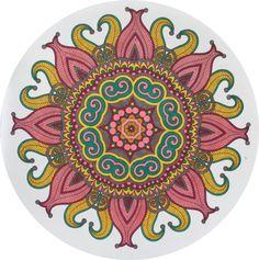 Creatie 2017-03, 21-01-2017 100 creaties mandala met Sharpies