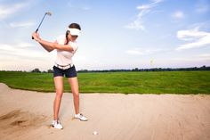 She had practiced for many hours on the golf course to get her putting just right. In the sudden death playoff in the final round.