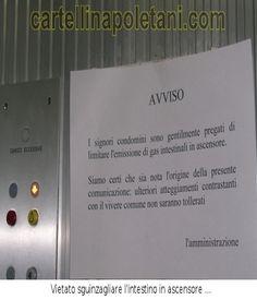cartelli napoletani divertenti