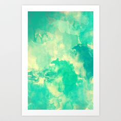 Underwater Art Print by Galaxy Eyes - $18.00  http://society6.com/product/Underwater-Y4y_Print?tag=abstract