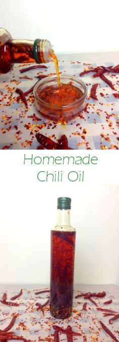 A simple and intense infusion of dried chillies and oil; perfect to top pizza, fish or to be used as a condiment in any other dish. Curry Seasoning, Dried Chillies, Chili Oil, Homemade Chili, Infused Oils, Spices And Herbs, Hot Sauce Bottles, Keep It Cleaner, Dawn