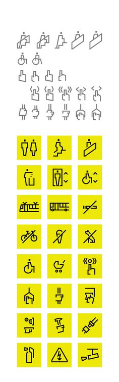 ZTM Gdansk by filip piasecki, via Behance Environmental Graphic Design, Environmental Graphics, Signage Design, Logo Design, Design Design, Wayfinding Signs, Sign System, Doodle Icon, Logos