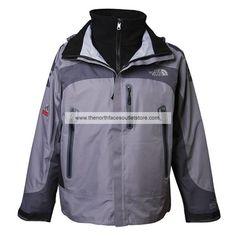 The North Face Gray Wool Men Denali 009