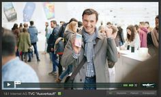 1&1 tv commercial - featuring the Samsung Galaxy 6 -  production company GK Film - Styling by Cordula Schill