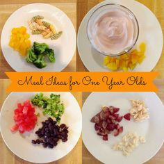 Little Madi Grace: Meals Ideas for One Year Old