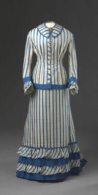 Day Dress, 1890-91. Digitalt Museum - Kjole