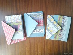 DIY: Scrap Paper Cards