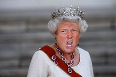 10  Hilarious Trump And Queen Mash-Ups That Will Make America Great Britain Again