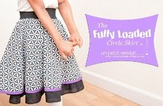Tutorial: Fully Loaded Circle Skirt for girls · Sewing   CraftGossip.com