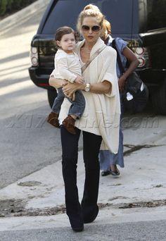 Cozy Look: Rachel Zoe + Baby Skyler