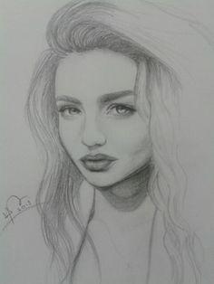 Sketch of Miranda Kerr - Bex Hurst